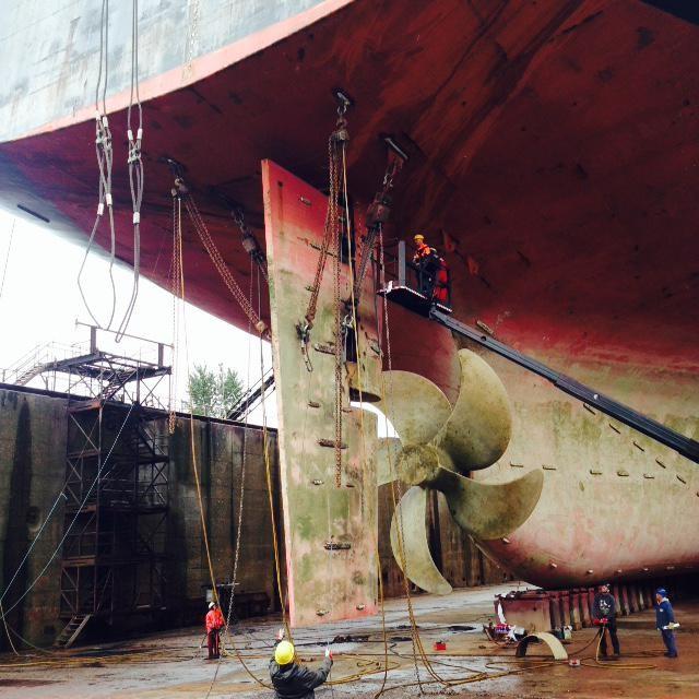 Propeller, Tail shaft & Rudder Repairs