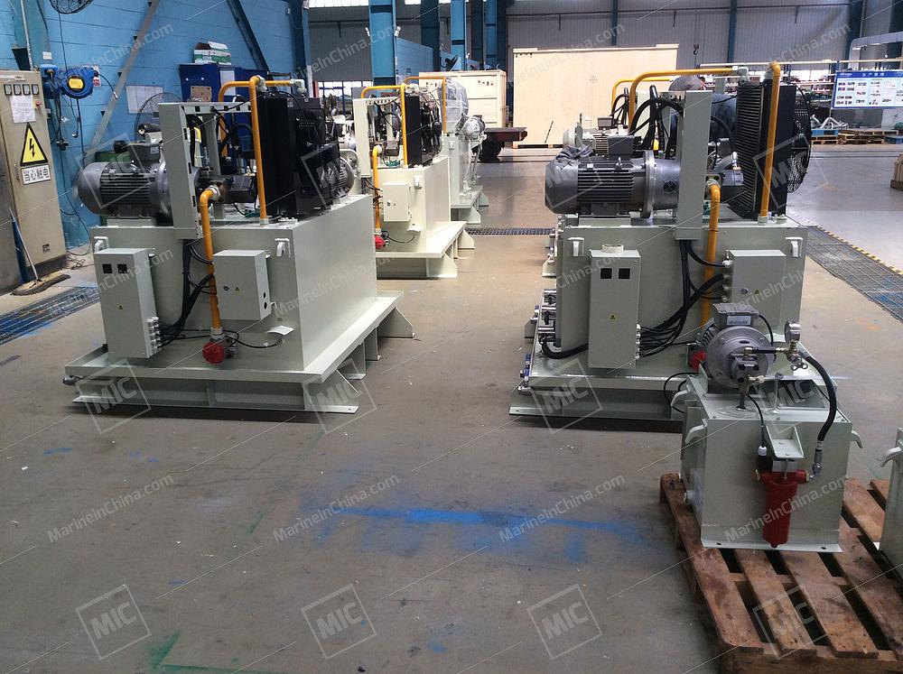 Deck Machinery Hydraulic System