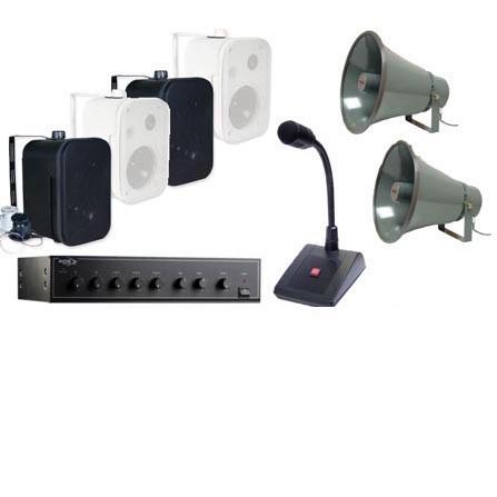 Public Address System / Loudspeakers