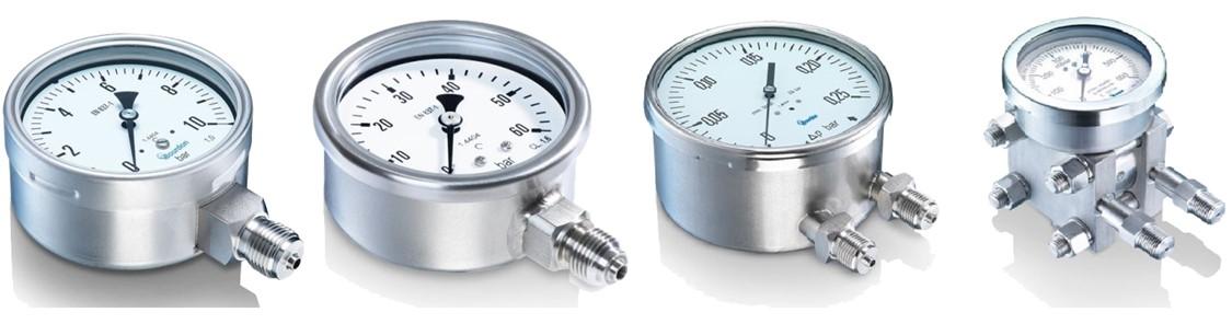 Marine Pressure Gauge