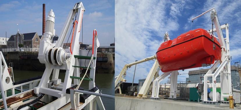 Life Boat Davit
